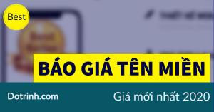 báo giá web